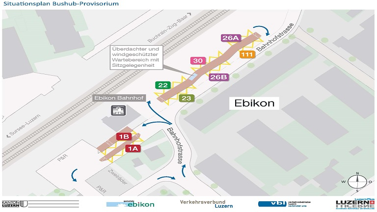 Situationsplan Ebikon